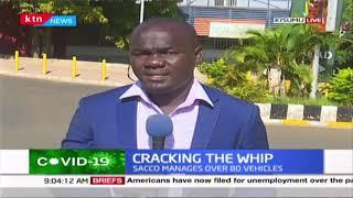 NTSA suspends a Matatu SACCO license: Lastest in Kisumu in the fight againts COVID-19