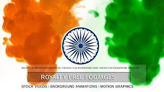 Indian flag video, Indian flag color background video | Indian flag tiranga animation hd, #15August