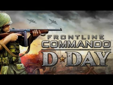 Frontline Commando: D-Day - iPhone/iPod Touch/iPad - Gameplay HD
