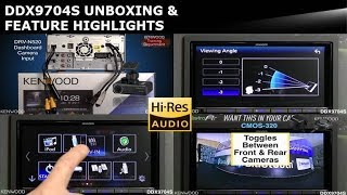 KENWOOD DDX9704S 2017 Multimedia Receiver Unboxing & Feature Highlights