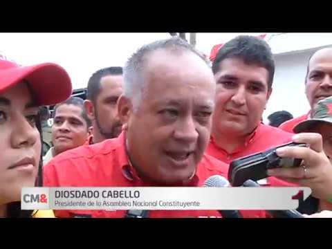 'De aqui no nos saca nadie': Diosdado