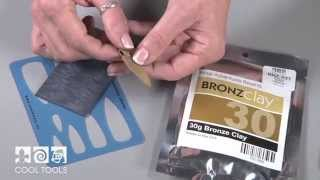 How To Make A Bronze Metal Clay Shield Pendant Made Using BRONZclay