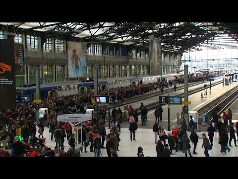 How much will the French rail strikes cost?