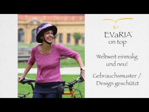 EVaRIA on top / Hüte für den Fahrradhelm
