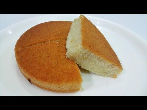 Video Eggless Vanilla Sponge Cake || Pressure Cooker Eggless Sponge Cake Recipe