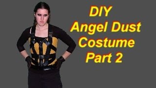 DIY Angel Dust Costume Tutorial Part 2