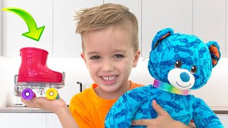 Vlad and Nikita build their own Toys
