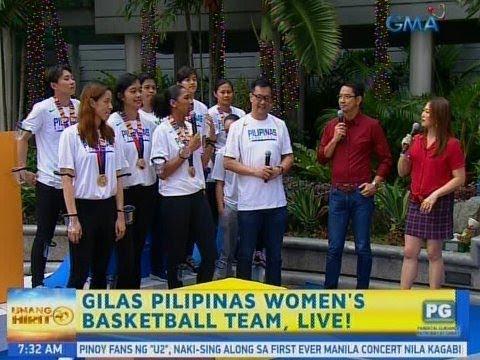 [GMA]  Unang Hirit: SEA Games Women's Basketball gold medalists, bumisita sa 'Unang Hirit!'
