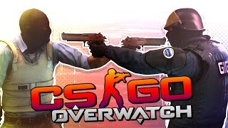 HACKERS VS HACKERS! (CS:GO Overwatch)