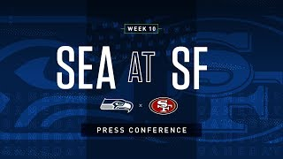 Postgame Press Conference Seahawks 2019 Week 10 at 49ers