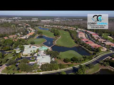 Forest Glen Golf & Country Club Naples FL 360 Aerial Real Estate Homes & Condos