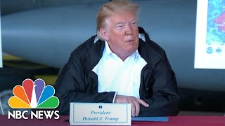 President Donald Trump: Nothing Will Be 'Left Undone' In Response To Florence Recovery | NBC News