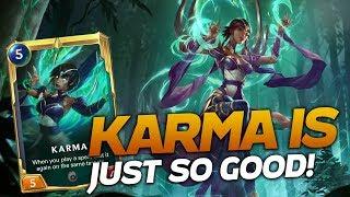 Karma Is Just SO GOOD! | Legends Of Runeterra | Savjz