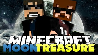 Minecraft Modded Moon Challenge 1 - THE TREASURE WILL BE MINE
