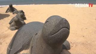 Video : China : HaiKou beach, HaiNan 海南 island