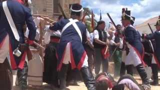 preview picture of video 'RECREACIÓN DE LA BATALLA DEL 2 DE MAYO DE 1810 EN ALGODONALES'