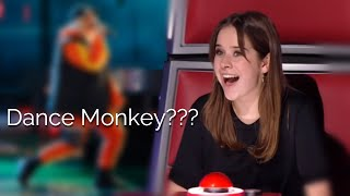 "BEST ""DANCE MONKEY"" covers in The Voice 
