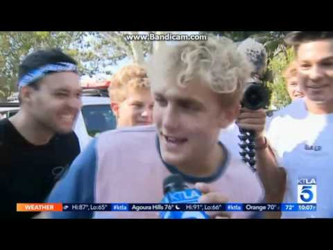 JAKE PAUL AND TEAM10 GETTING SUED. KTLA 5 NEWS