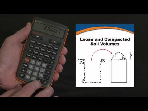 HeavyCalc Pro - Loose and Compacted Soil Volume