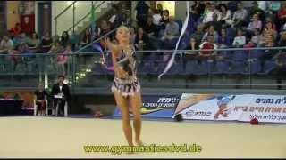 preview picture of video 'Grand-Prix Holon 2013 - 04 - Melitina Staniouta - Ribbon'