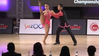 Los Amigos Yasbek Cervantes Yasbek Cervantes II y Diana Exclente performance en 2 mambo
