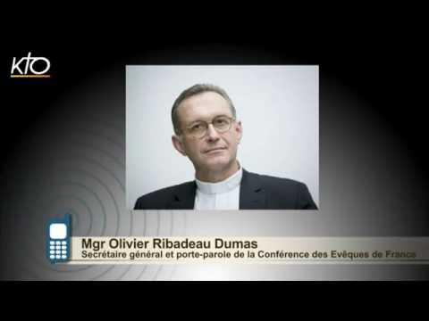 #PrayForNice - Le message de Mgr Olivier Ribadeau Dumas, Secrétaire Général de la CEF
