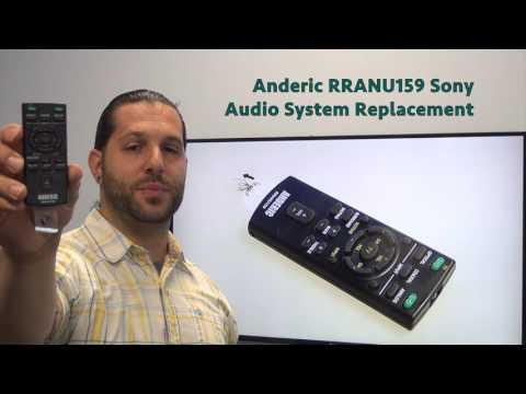 ANDERIC RRANU159 Sony Audio System Remote Control