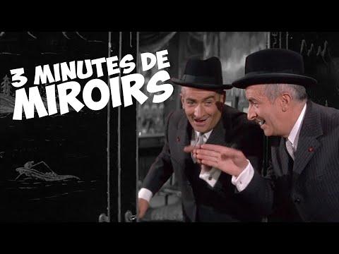 3 minutes de miroirs avec Louis de Funès !