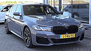 2021 NEW BMW 5 Series LCI | Facelift M Sport FULL REVIEW Interior Exterior Infotainment