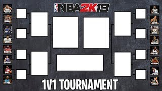 Who Is The Best 1v1 Player In The NBA? | NBA 2K19 1v1 Tournament Round 1