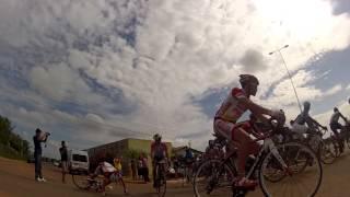 preview picture of video 'Largada 5º Desafio de Ciclismo - A queda'