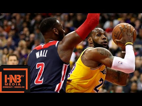 Los Angeles Lakers vs Washington Wizards Full Game Highlights | 12.16.2018, NBA Season