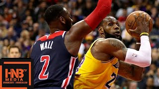 Los Angeles Lakers Vs Washington Wizards Full Game Highlights   12.16.2018, NBA Season