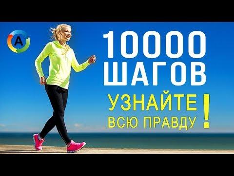 Если Ходить 10000 шагов в день. Что будет