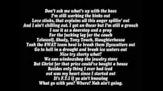 DJ Tony Touch ft Eminem - Symphony In H + ( Lyrics )