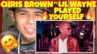 Chris Brown Ft. Lil Wayne - Played Yourself (Official Music Video) | Reaction Therapy