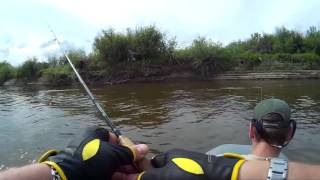 Рыбалка в устье реки Мокша