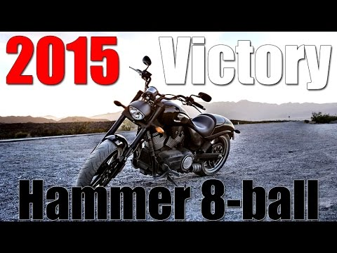 2015 Victory Hammer 8-ball | First Ride/Impressions