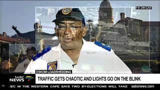 Eskom Loadshedding  | Traffic Gets Chaotic And Lights Go On The Blink
