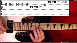 JAKE E. LEE Solo - SO TIRED ( Bark at the Moon ) Guitar Lesson✅✅🎵