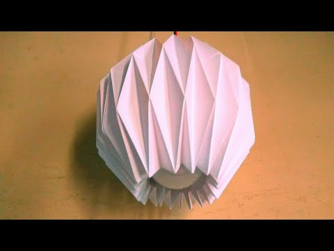Making It Easy Diy Paper Lamp Shade  At Home Mp3
