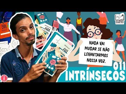 UNBOXING INTRÍNSECOS 011 | Editora Intrínseca | David Henrique