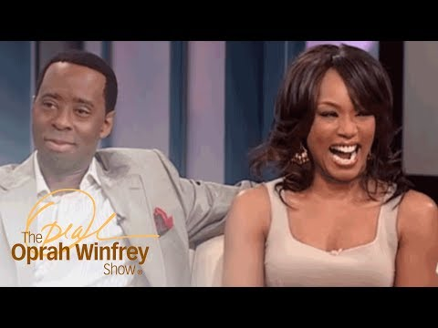 ", title : 'Angela Bassett and Courtney B. Vance: ""Boring"" First Date to Marriage 