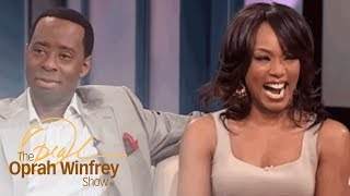 """Angela Bassett and Courtney B. Vance: """"Boring"""" First Date to Marriage 