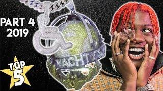 Top 5 Rapper Chains 2019 (Part 4 ) | Lil Yachty, Trippie Redd, Roddy Ricch