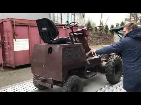 Video Hatzenbichler HATZ Wildkrautbesen mit Stahlbürsten