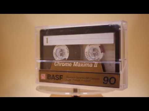 Compact Cassette BASF Chrome Maxima II C90 / 1990 / doublepack (visual demonstration only) ⁴ᴷ