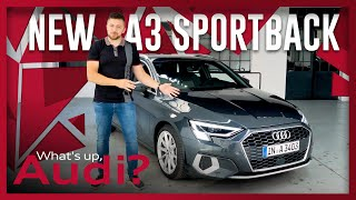 YouTube Video QM1EGM3sh9U for Product Audi A3 Sportback (4th gen, Typ 8Y) by Company Audi in Industry Cars