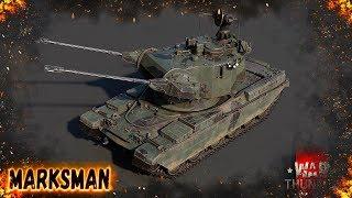 War Thunder - Chieftain Marksman : Финская Имба xD