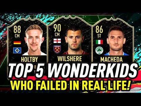 Top 5 FIFA Wonderkids Who Failed In Real Life!